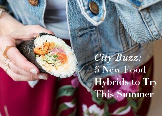 food hybrids, nyc food hybrids, doughka, dough doughnuts, cupcarons, sushi burrito, black and white cookie ice cream, sushi burrito