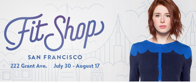 modcloth fit shop, san francisco, modcloth, shopping