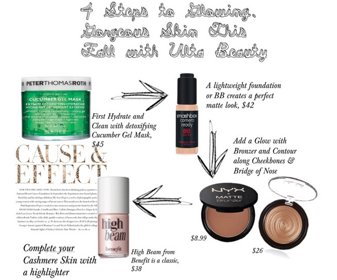 ulta beauty, ulta, contouring, cashmere skin, flawless skin, skincare, beauty, foundation, primers