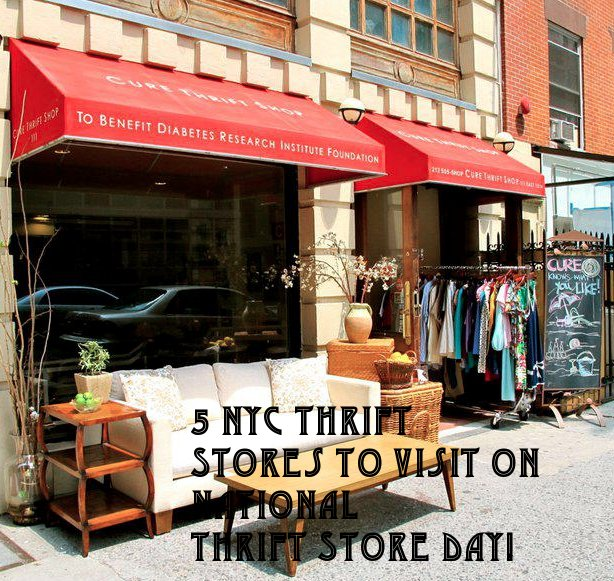 national thrift store day, thrift store shopping, NYC thrift stores, nyc vintage, nyc shopping,