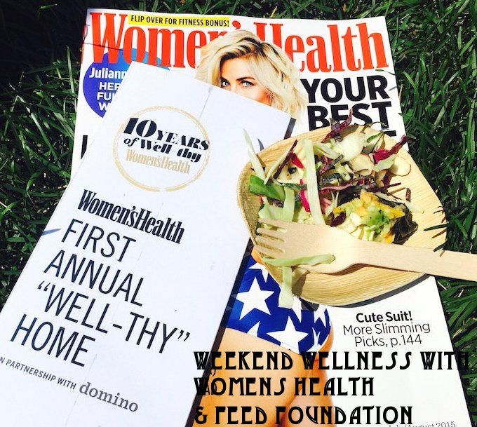 womens health, feed, healthy eating, wellness, fitness, heidi powell, celebrity workouts, healthy habits