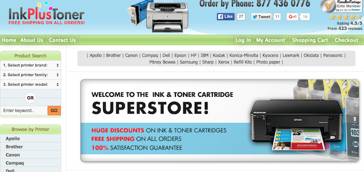printer ink, printer cartridges, toner, printer supplies, printing supplies, inkplustoner, inkplustoner.com, computer supplies