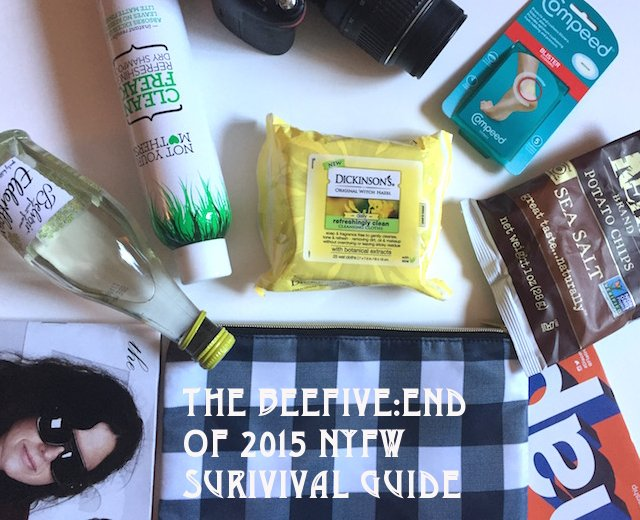 nyfw, end of nyfw fall 15, nyfw fall 2015, nyfw essentials, 5 things, beauty products, nyfw essentials