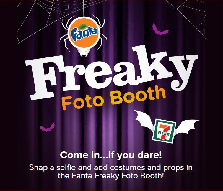 fanta soda, fanta freaky foto booth, halloween, halloween selfies, halloween apps, fanta app
