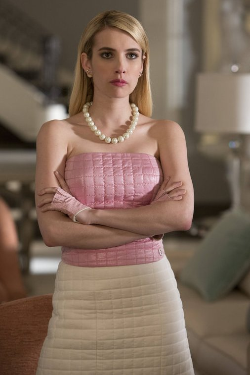 emma roberts, scream queens, fox, horror, scary movies, scary tv shows, television, tv shows, fox,