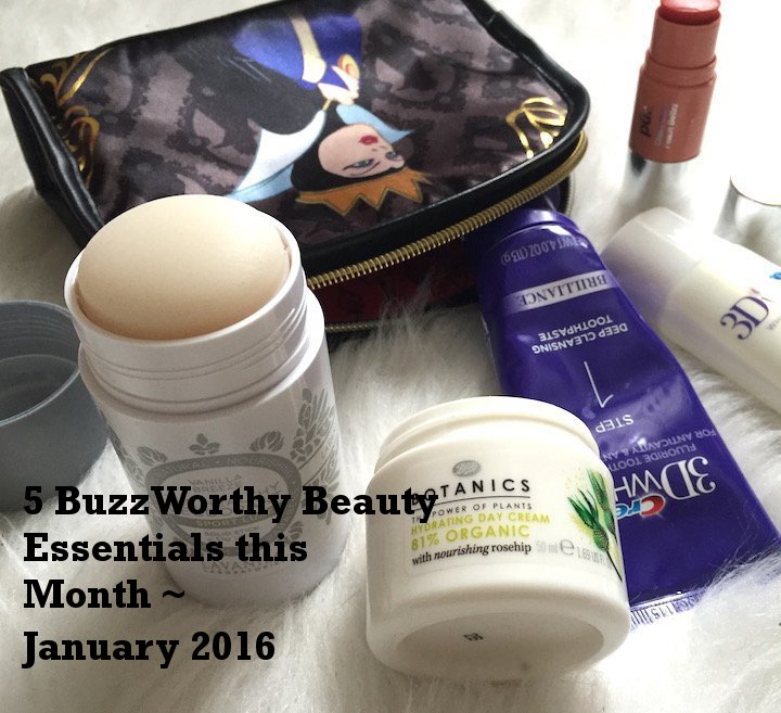 winter beauty, beauty must haves, beauty essentials this month, monthly beauty must haves, beauty buzz, crest 3d brilliance, healthy deodorant, eyelash curler, carmex, pur minerals , influenster