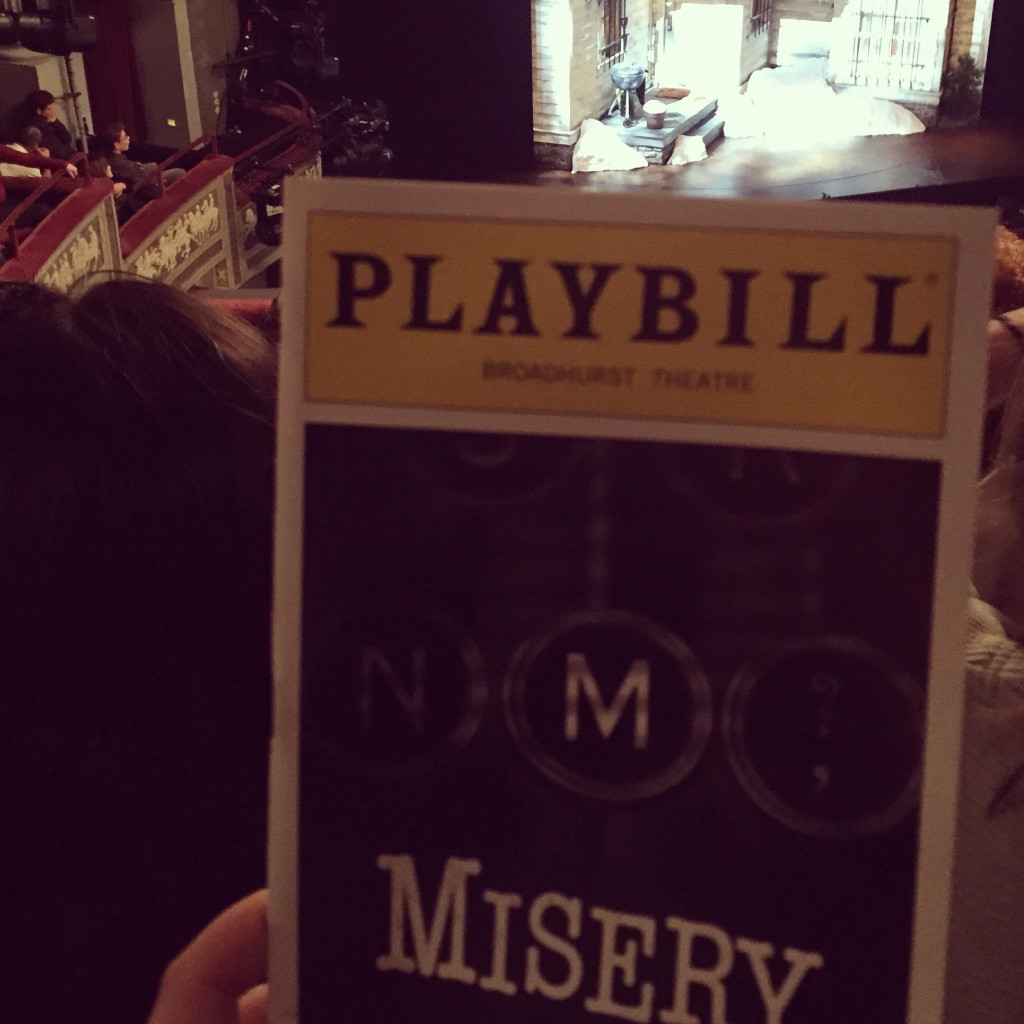 misery, misery on broadway, misery broadway, misery play, nyc shows, broadway shows, bruce willis, reviews, entertainment