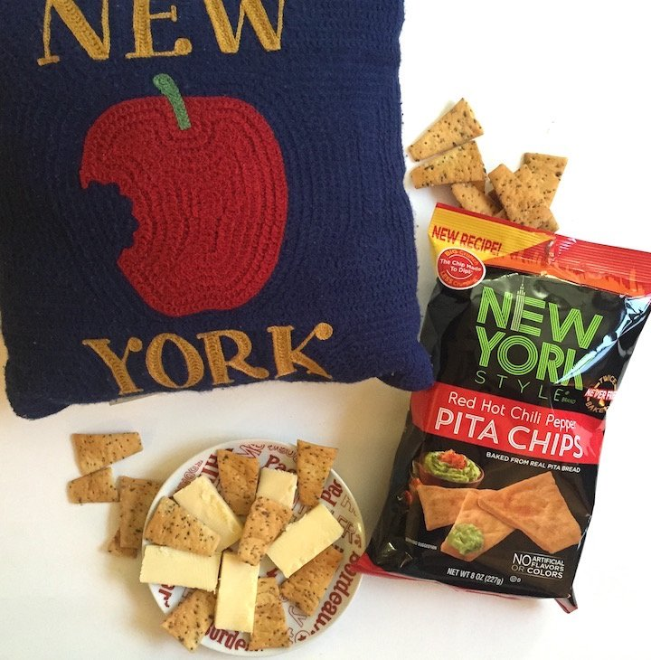 new york style, snacks, pita chips, new york style pita chips