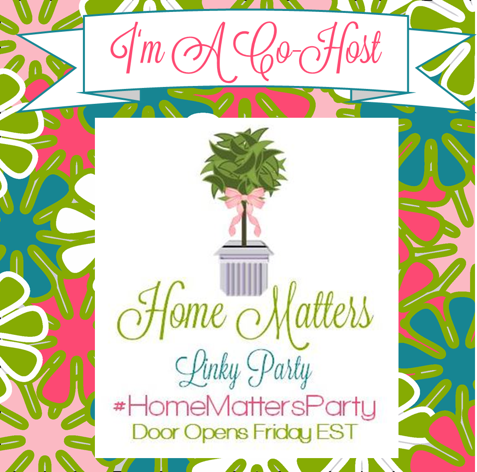im a co host home matters linky party