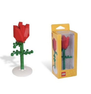 valentines day, lego flower, ways to say i love you