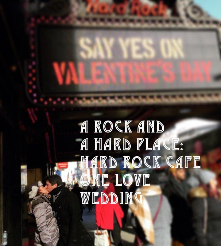 hard rock cafe, hard rock cafe nyc, hard rock punta cana, hard rock cafe wedding, one love wedding package, weddings, nyc weddings,