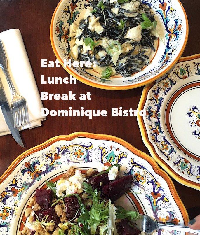 dominique bistro, lunch break nyc, west village, west village restaurants, best of nyc, nyc food, restaurant reviews, nyc restaurants, nyc lunch