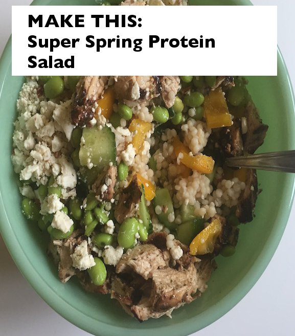 spring protein salad, salad ideas, salad recipes, spring lunch ideas, lunch recipes, protein salad recipes, dinner ideas for two, food, food blogger ideas