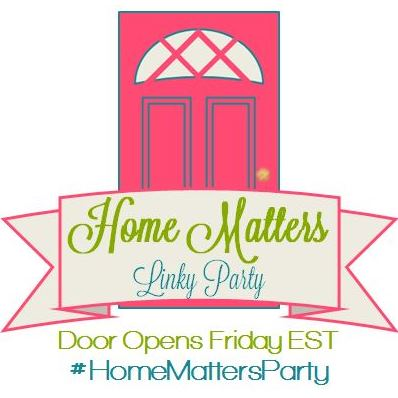 home matters, linky parties