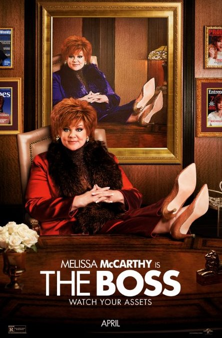 melissa mccarthy, the boss, new movies, movie reviews