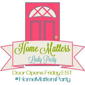 home matters, home matters linky party, blogger linkups