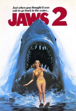 jaws 2, movies, movie reviews, the shallows, sharks, shark movies, horror movies,