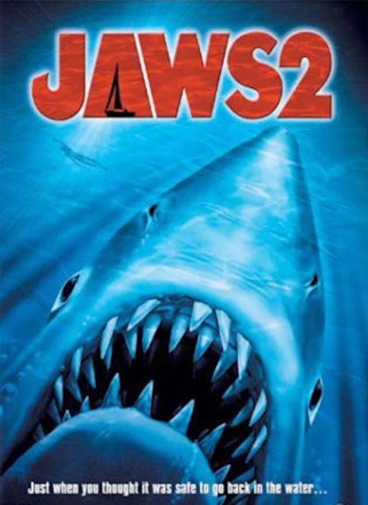 underrated horror sequels, jaws 2, horror movies