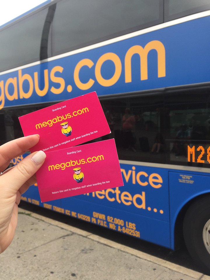megabus, summer getaways, cheap summer getaways, buses from new york