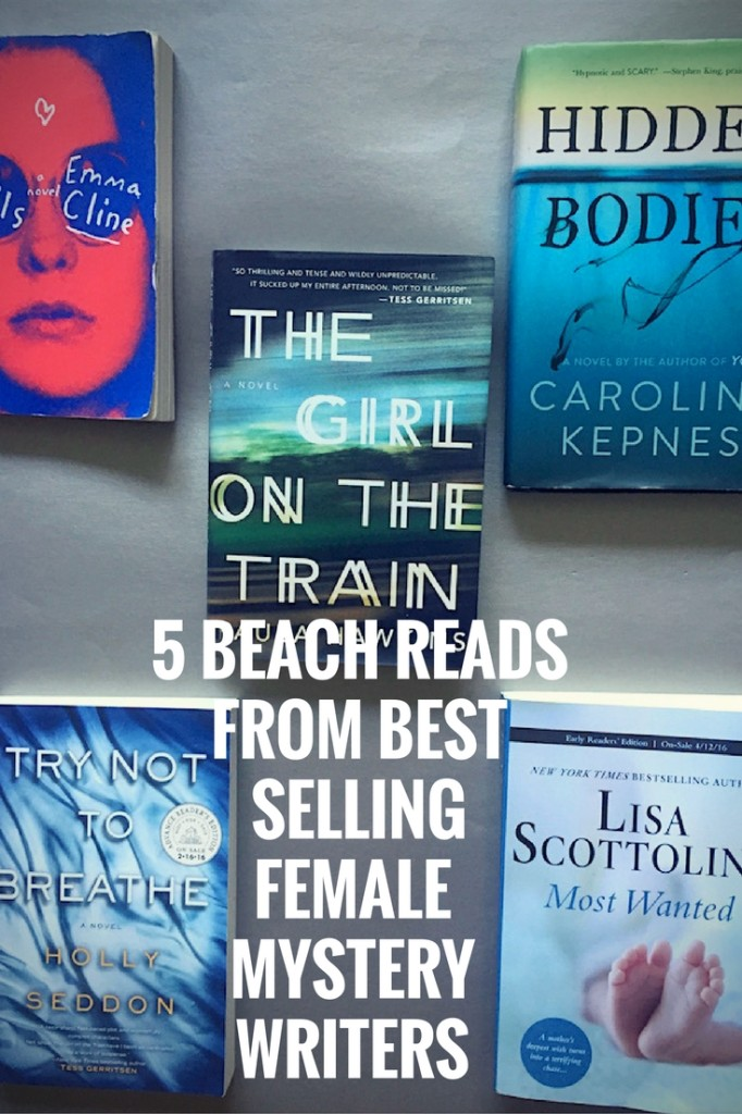 female mystery writers, international book lovers day, best selling books, mystery books, female mystery authors, the girls, emma cline, the girl on the train movie, mystery books