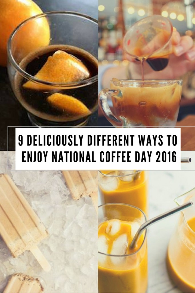national coffee day, coffee recipes, homemade coffee recipes, ways to enjoy coffee, folgers coffee, thai iced coffee, iced coffee recipes, food bloggers,