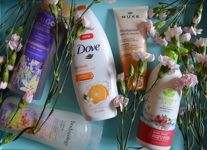 body washes, summer skin, fall skin savers, fall beauty products, best body washes, dove go fresh, ahava
