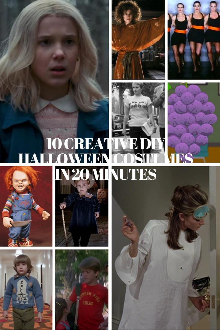 creative diy halloween costumes, diy halloween costumes, halloween, halloween 2016, diy halloween, eleven costume, audrey hepburn costume, chucky costume,
