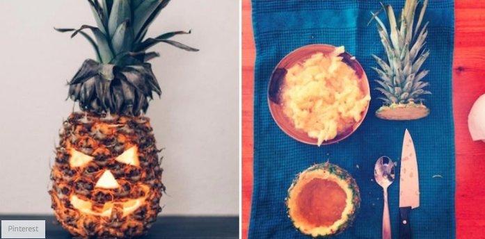 grownup-halloween-ideas-pineapple-jackolantern