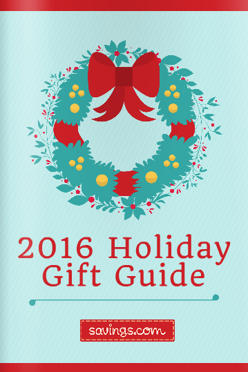 2016 holidays, 2016 holiday gift guide, holiday gift guides, savings.com, black friday deals, holiday shopping tips,