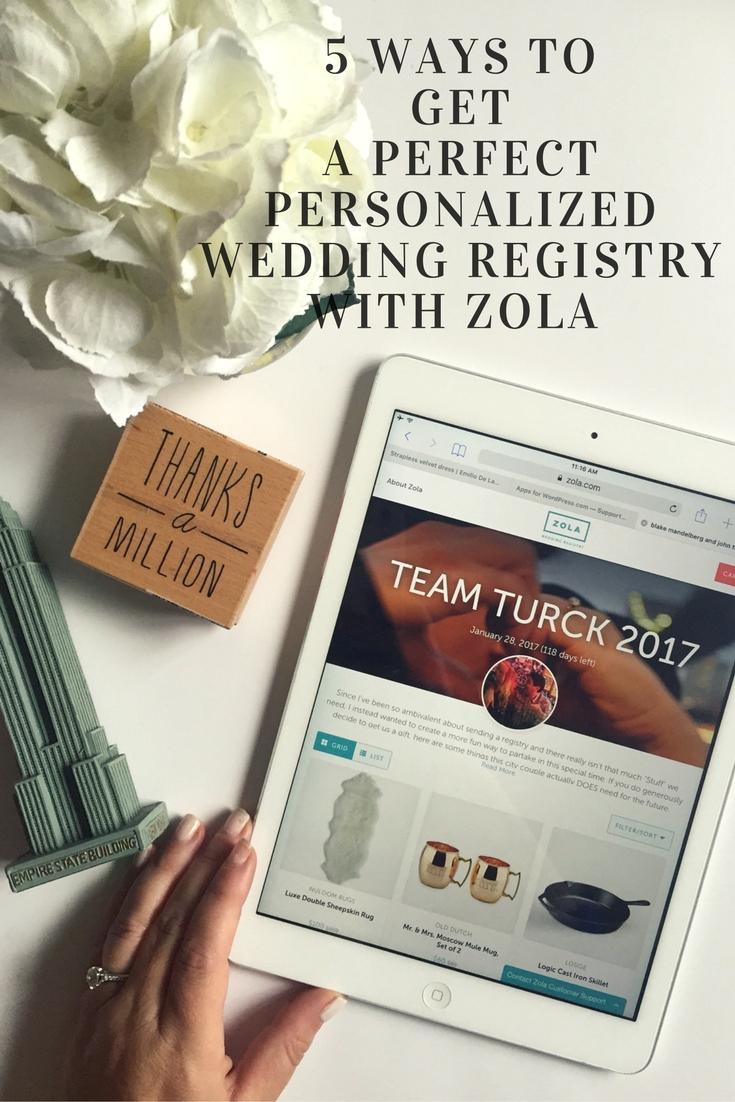 zola registry, zola, wedding registries, easy wedding registry, personalized wedding registry, engaged,