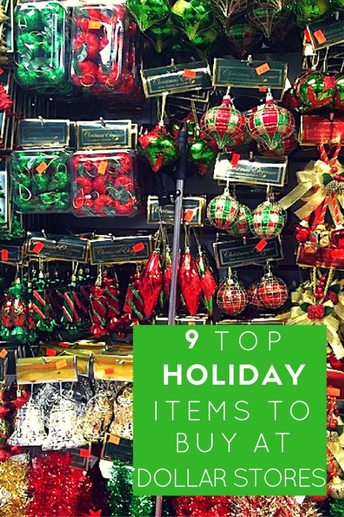 Holiday shopping, dollar stores, affordable holiday decor,