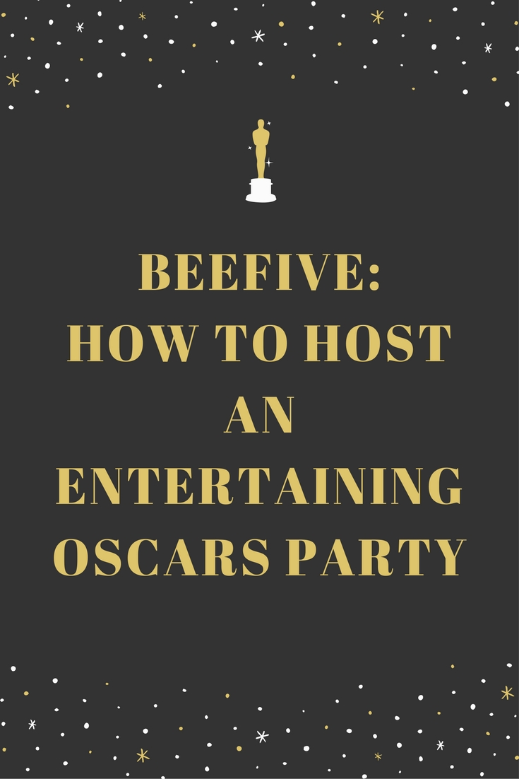 89th academy awards, oscars, oscars party, infographic, oscar nominated movies, hosting oscar parties