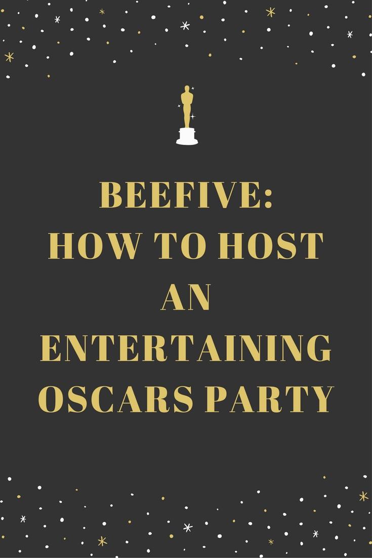 89th academy awards, oscars, oscars party, infographic, oscar nominated movies, hosting oscar parties