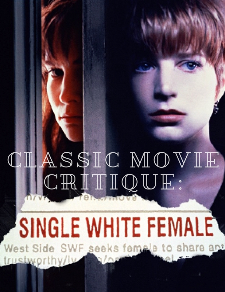 single white female, jennifer jason leigh, classic movies, classic movie reviews, movie reviews, 90's thrillers, suspense movies