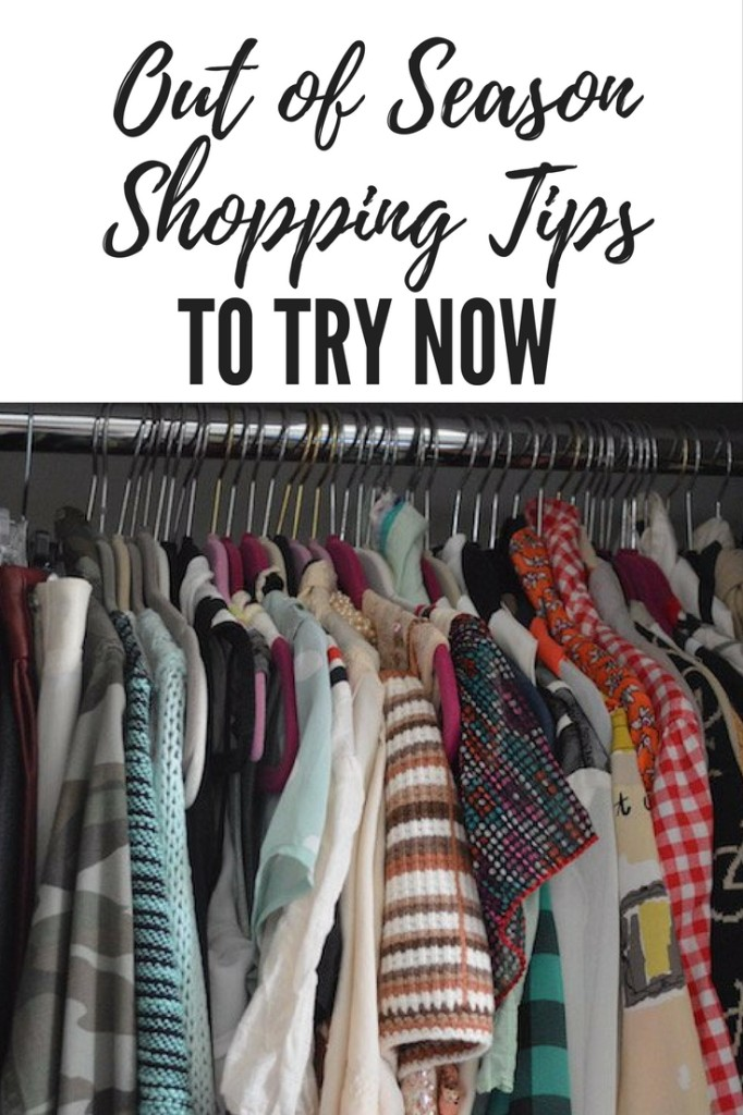 out of season shopping, shopping tips, second hand shopping