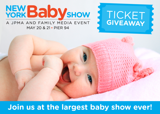 new york baby show, mom trends, baby show giveaway, ticket giveaway