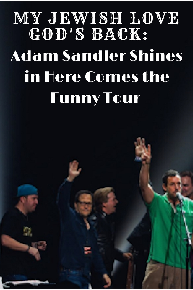 here comes the funny tour, adam sandler, westbury theater, comedy shows
