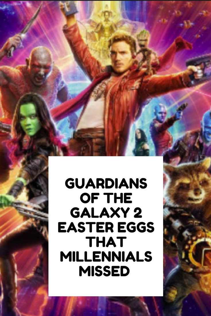 guardians of the galaxy 2, guardians of the galaxy 2 easter eggs, movie easter eggs, pop culture references, howard the duck,