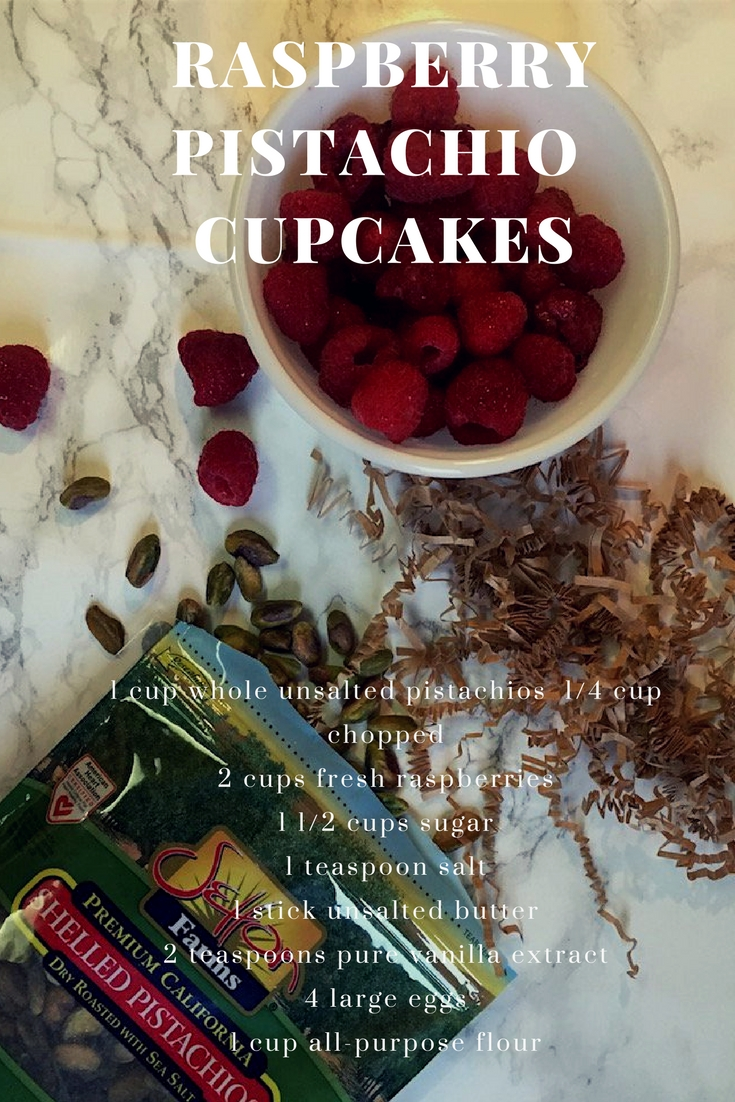 raspberry pistachio cupcakes, easy breakfast recipes, muffin recipes, breakfast muffins, setton farms pistachios, pistachio recipes