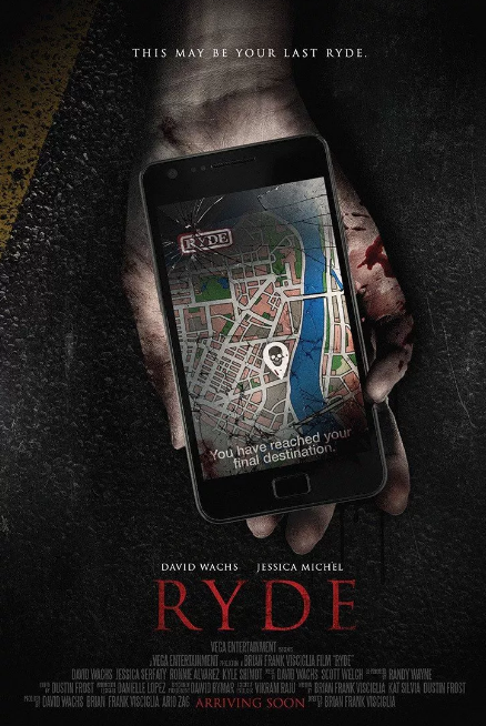 ryde, ryde movie, movie reviews, horror movie reviews, horror movies, new horror movies 2017, ride sharing apps