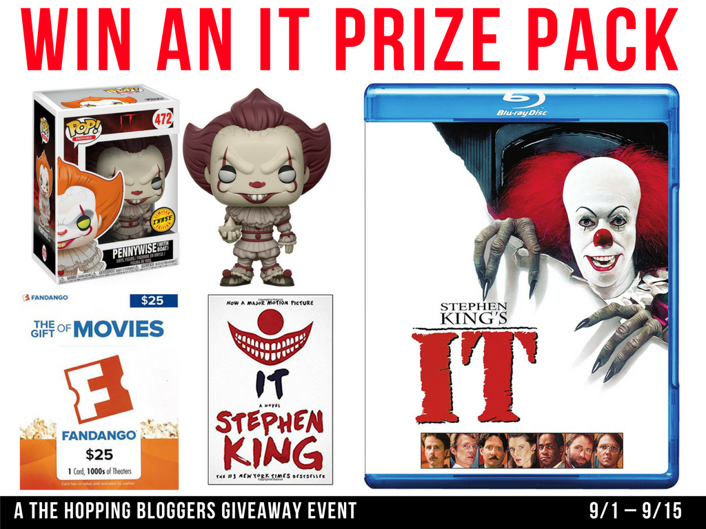 it movie, it giveaway, fandango gift card, it prize pack, movies, movie giveaways, movie bloggers, giveaways, blogger giveaways