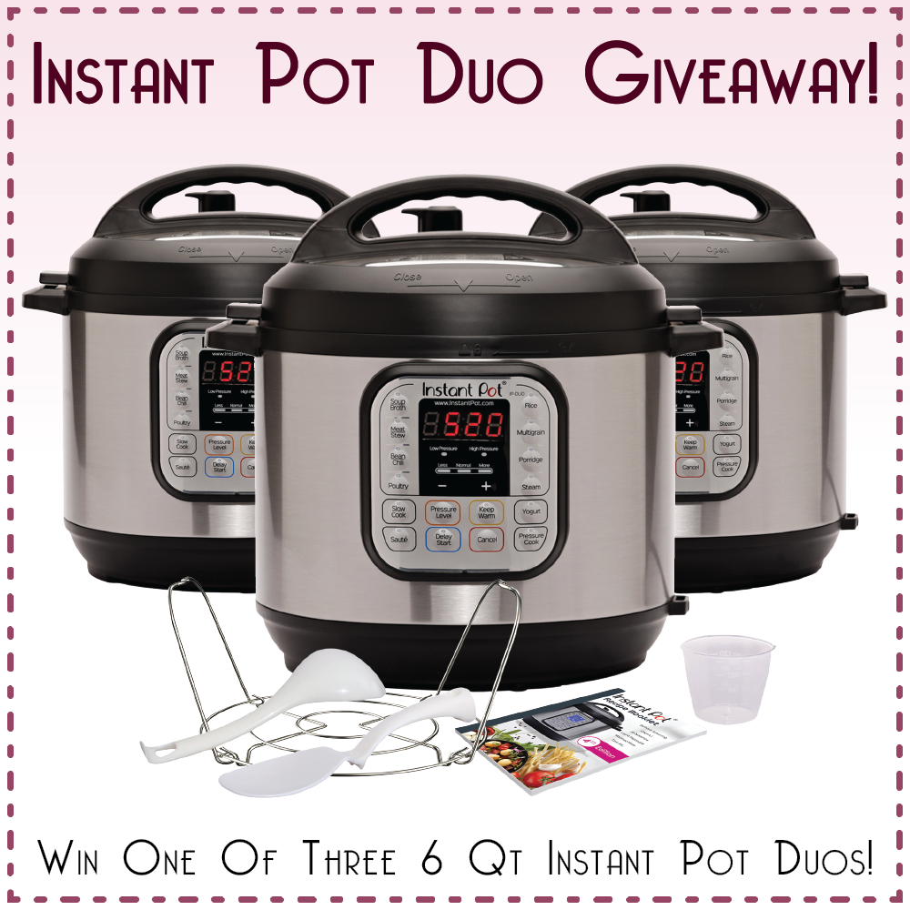 instant pot, instant pot giveaway, blogger giveaways, fall giveaways, fall recipes, pressure cooker