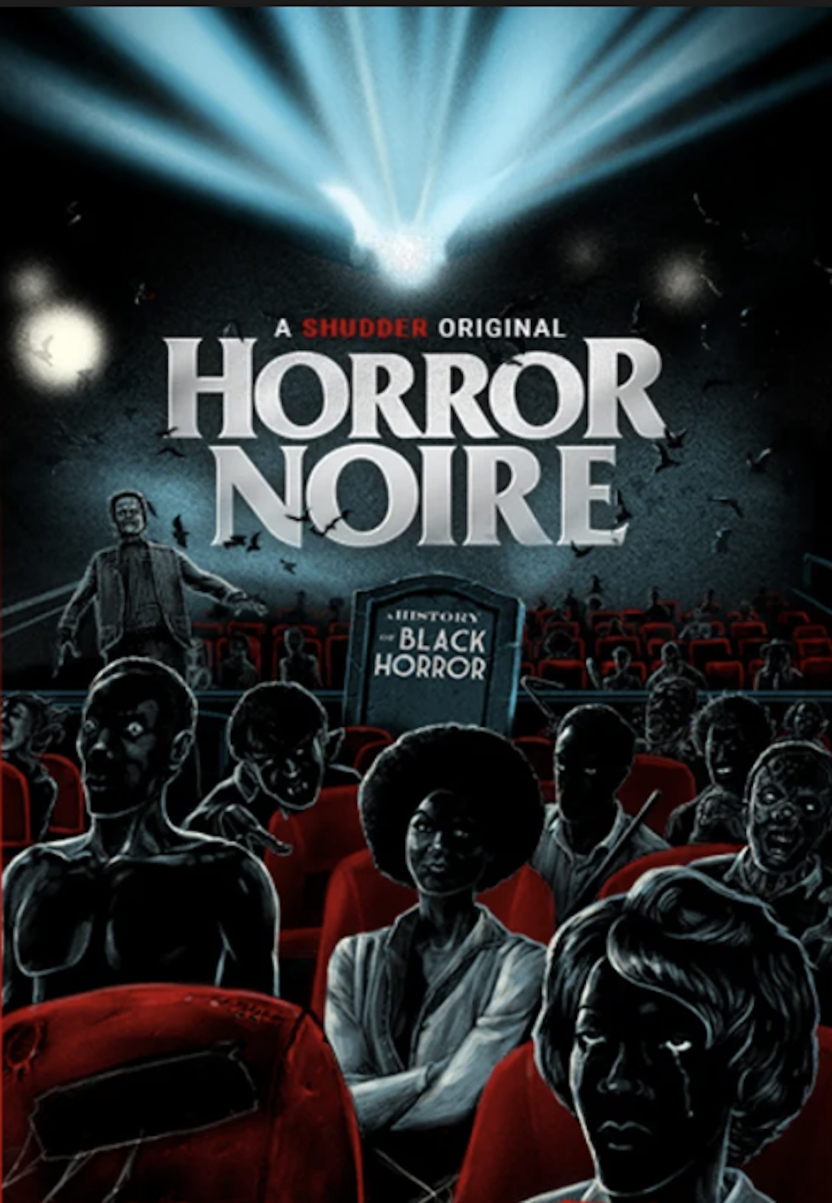 horror noire documentary, black horror movies, candyman, jordan peele, shudder, streaming horror movies