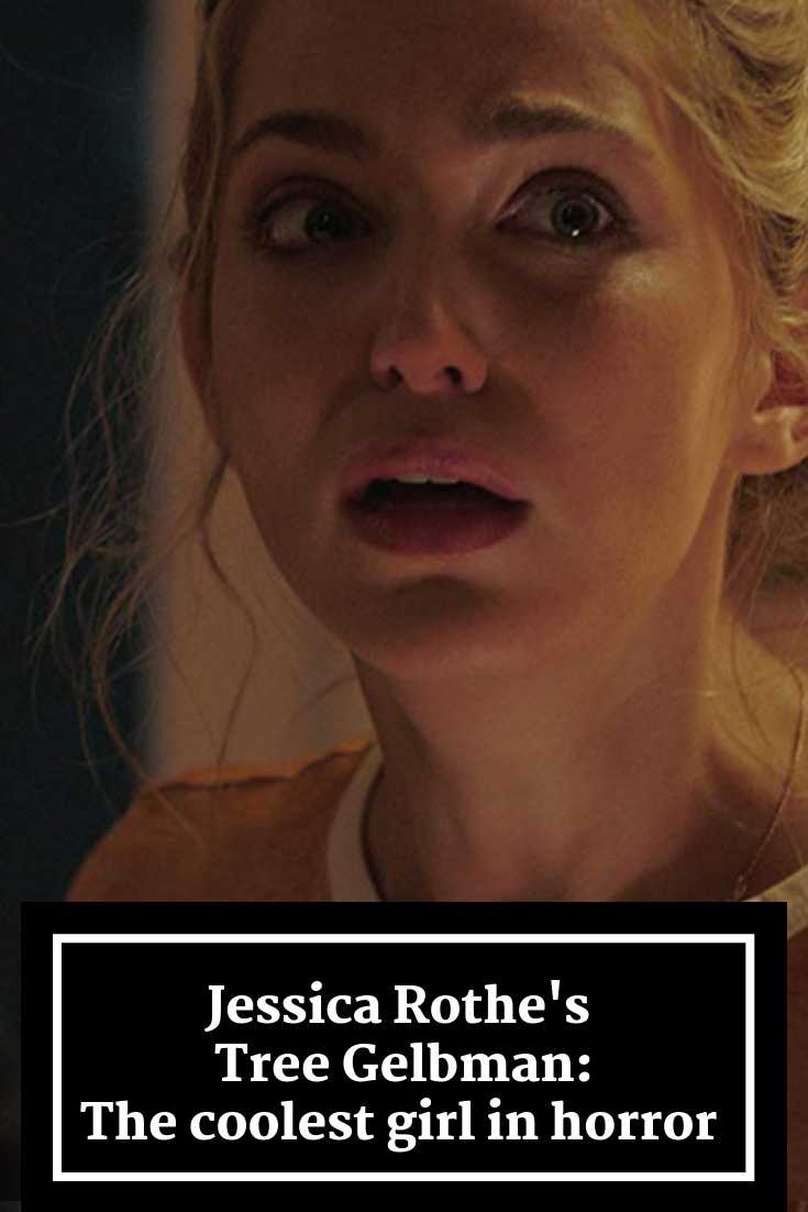 jessica rothe, tree gelbman, happy death day, happy death day 2u, horror movies, female anti heroes in film