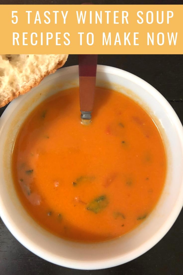 winter soup recipes, tomato basil soup, winter soups, soup recipe ideas, dinner ideas, soup recipes