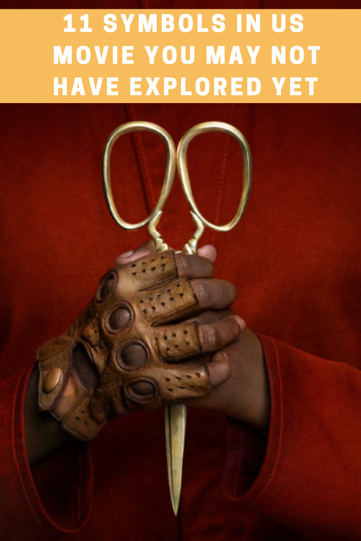 symbols in us movie, us movie, jordan peele, horror movies, movie reviews,