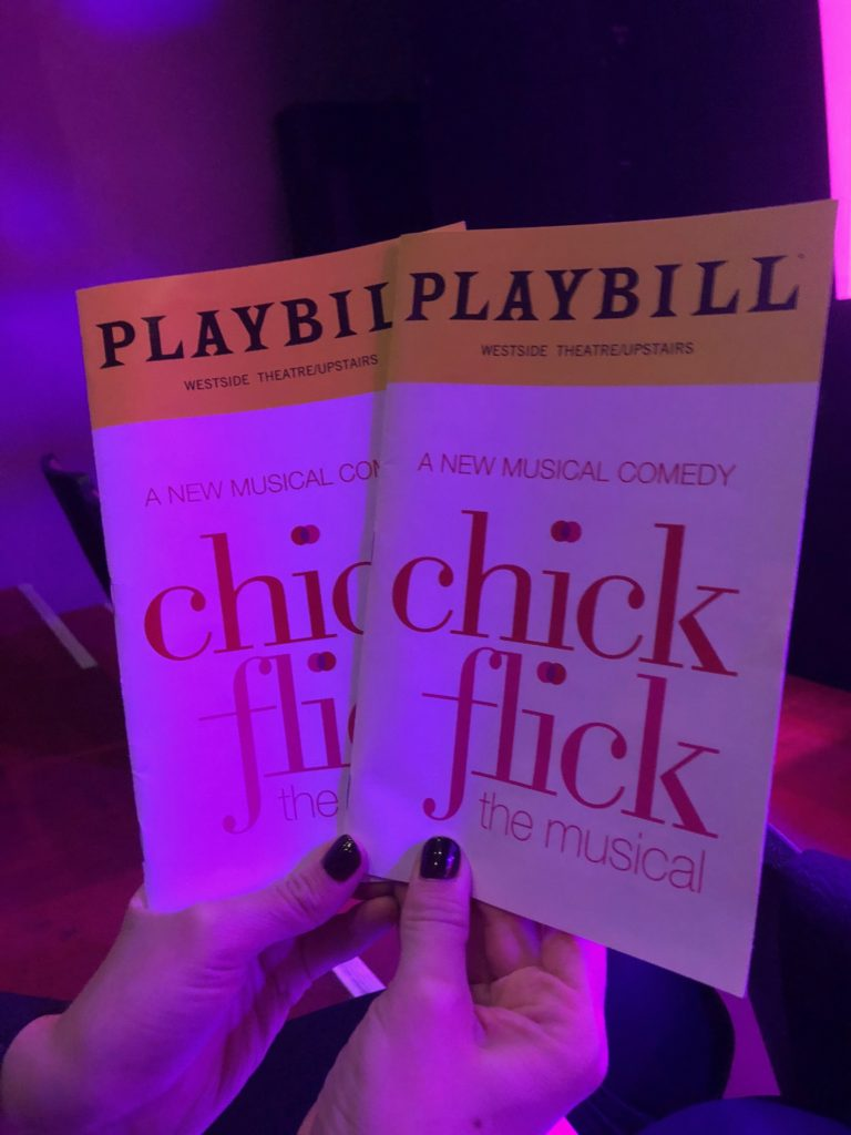 chick flicks, chick flick musical, musicals nyc, chick flick review