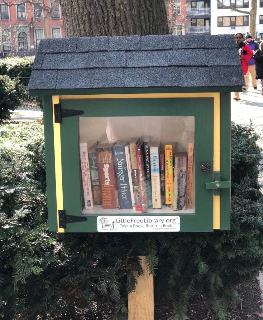 little free libraries, national reading month, nyc hidden gems, nyc libraries, used books, reading