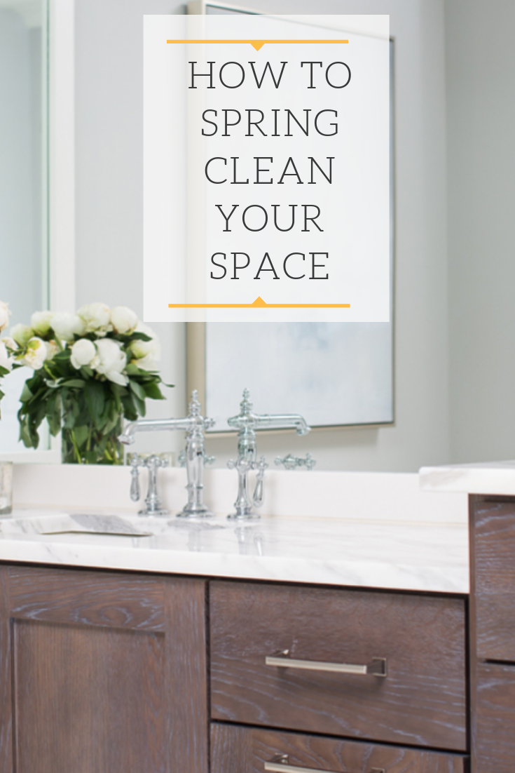 spring clean your space, spring cleaning tips, cleaning, spring clean