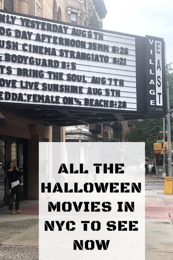 halloween movies in nyc, horror movies, nyc movie theaters
